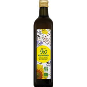 Monoprix Bio huile 4 grains bio 75cl