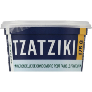 Monoprix Tzatziki,préparation à base de fromage blanc et de concombre 175 g