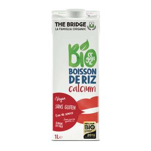[Par Naturalia] The Bridge Boisson Au Riz Rice Drink Calcium 1L Bio