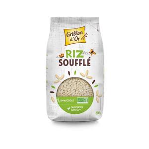 [Par Naturalia] Grillon D'Or Riz Complet Soufflé Sans Sucres Ajoutés 200G Bio