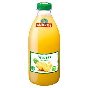 Andros jus de ananas la bouteille de 1L
