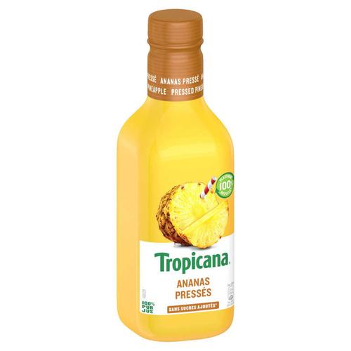Tropicana Pur Jus Frais d'Ananas la Bouteille de 90cl