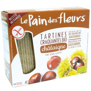 [Par Naturalia] Le Pain Des Fleurs Tartines Craquantes À La Châtaigne Sans Gluten 150G Bio