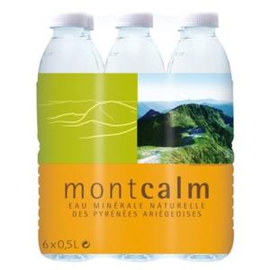 [Par Naturalia] Montcalm Pack Eau Minérale Naturelle 6X0.5L