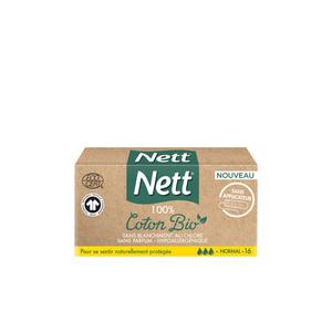Nett Tampon sans Applicateur Normal Bio x16