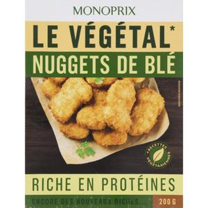 Monoprix nuggets de blé riche en protéines 200g.