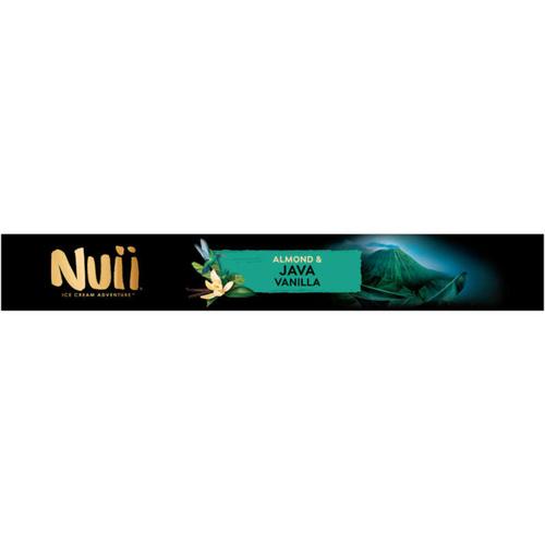 Nuii Glaces Vanille de Java & Amande x4 268g