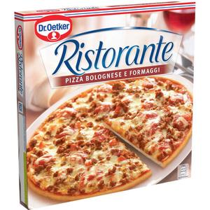 Dr. Oetker Ristorante pizza surgelée bolognaise et fromage 335g
