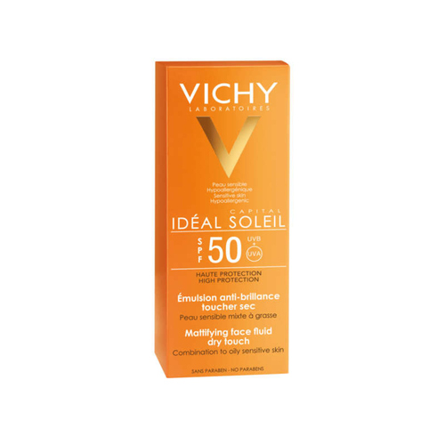 [Para] Vichy Idéal Soleil Crème Solaire Visage Toucher Sec Indice SPF50 50ml
