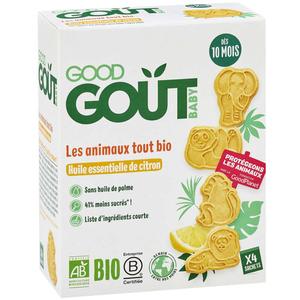 Good Gout Les Animaux Tout Bio Citron 80g