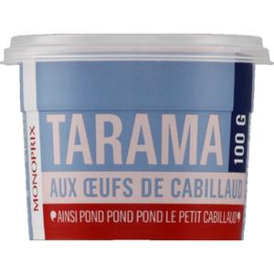 Monoprix Tarama aux Œufs de Cabillaud 100g