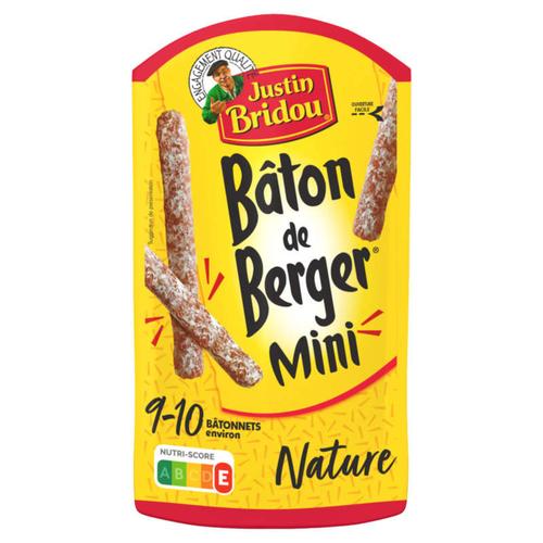 Justin Bridou Mini Bâton De Berger Nature 100g
