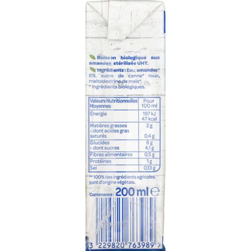 Bjorg Lait d'Amande Intense Calcium Bio 3 x 200ml