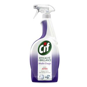 Cif Spray Nettoyant Efficacité & Brillance avec Javel 750ml
