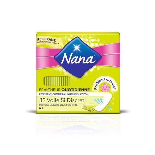 Nana Protège-lingerie Fraîcheur Quotidienne Voile si Discret x32