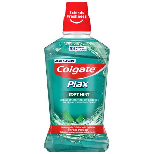 Colgate Plax Bain de Bouche sans Alcool Menthe Douce 500ml