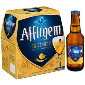 Affligem Blonde bière d'Abbaye 6 x 25 cl 6.7°