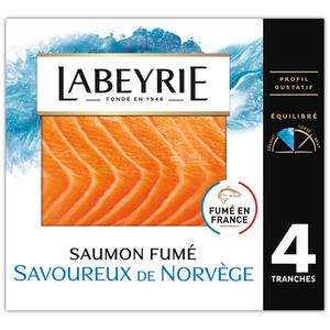 Labeyrie Saumon De Norvège Fumé 140g