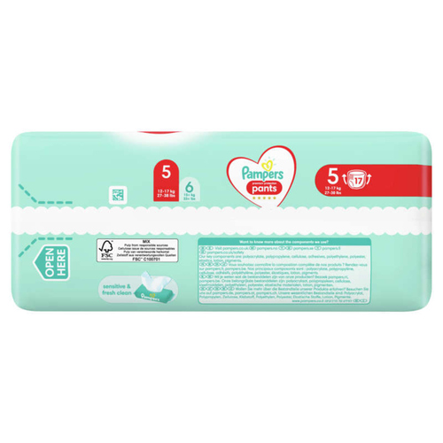 Pampers Premium Protection Pants Paquet T5X17