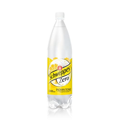 Schweppes Zéro Indian Tonic la bouteille de 1,5 L