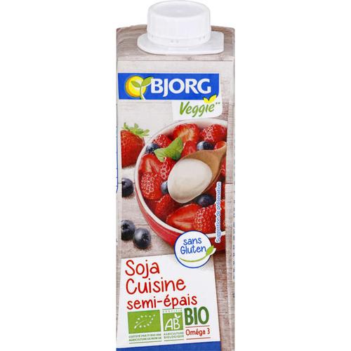 BjorgSoja cuisine semi epais bio 25cl