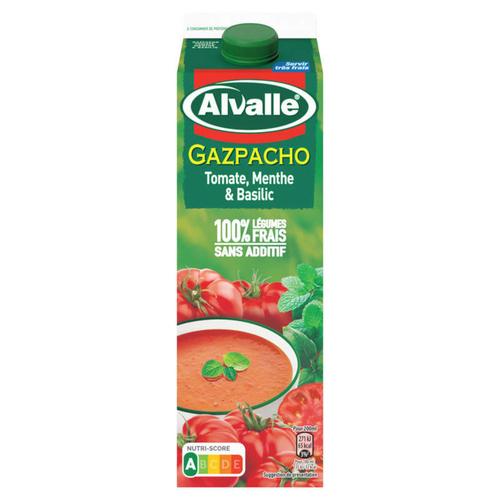 Alvalle soupe froide tomate, menthe et basilic 1L