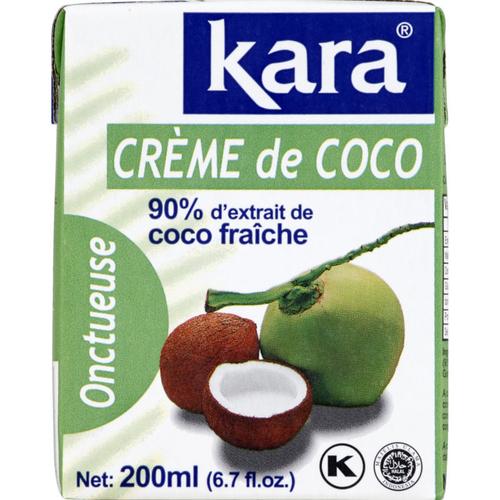 Kara Crème de coco onctueuse 20 cl