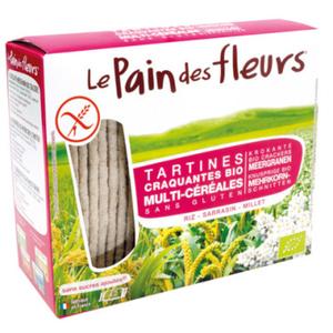 [Par Naturalia] Le Pain Des Fleurs Tartines Craquantes Multi-Céréales Sans Gluten