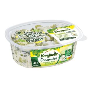 Bonduelle Concombres au Fromage Blanc et Ciboulette 300g