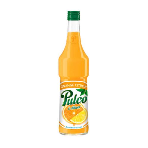 Pulco Boisson à Diluer Orange & Citron 70cl