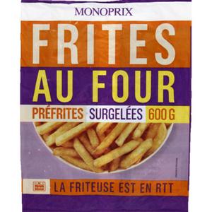 Monoprix Pommes frites au four 600g