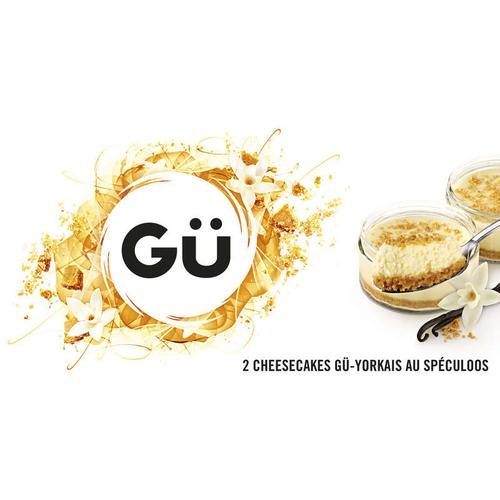 GÜ Cheesecake Gü Yorkais au Spéculoos 2x80g.
