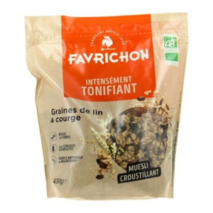 [Par Naturalia] Favrichon Muesli Lin & Courge 450G Bio