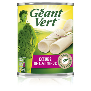 Géant Vert Cœurs de Palmiers 220g.