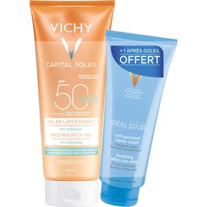 [Para] Vichy Capital Soleil Gel de Lait SPF50 200ml & Après Soleil 100ml