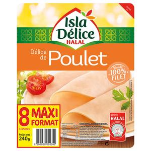 Isla Délice Delice de poulet halal 240g