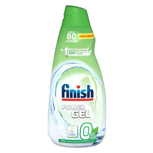 Finish Gel Lavage Power O% Pour Lave-Vaisselle 900ml