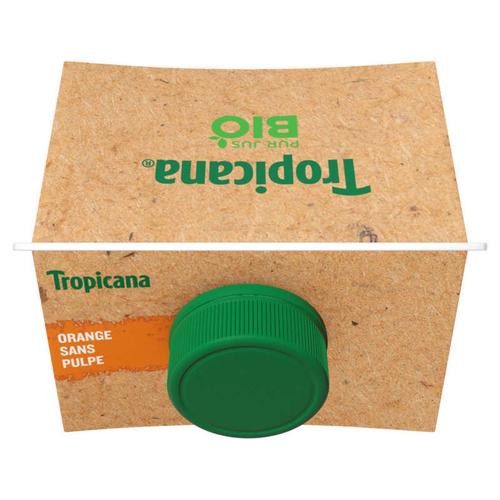 Tropicana Bio Jus d'Orange Sans Pulpe Pack 85cl