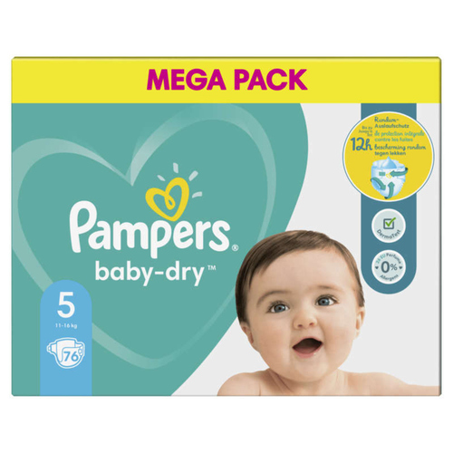 Pampers Baby Dry Mega T5X76