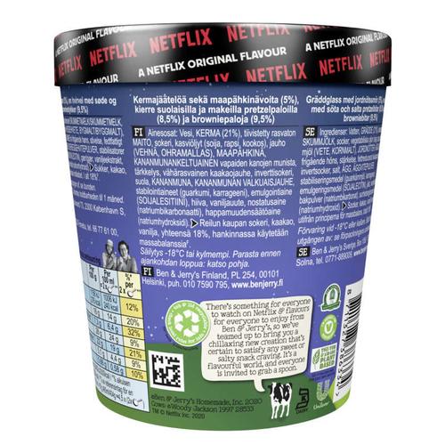 Ben & Jerry's Glace en Pot Netflix & Chilll'd™ 465ml