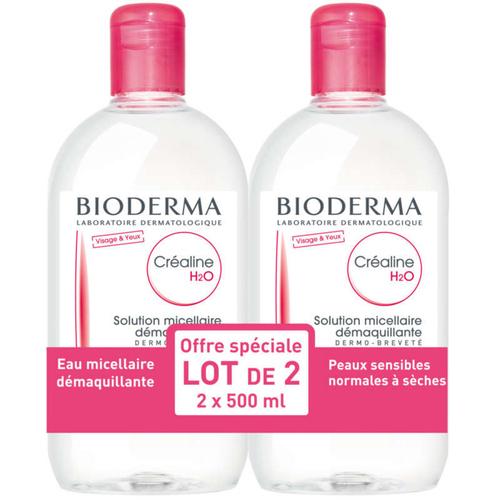 [Para] Bioderma Créaline H2O sans Parfum 2 x 500ml