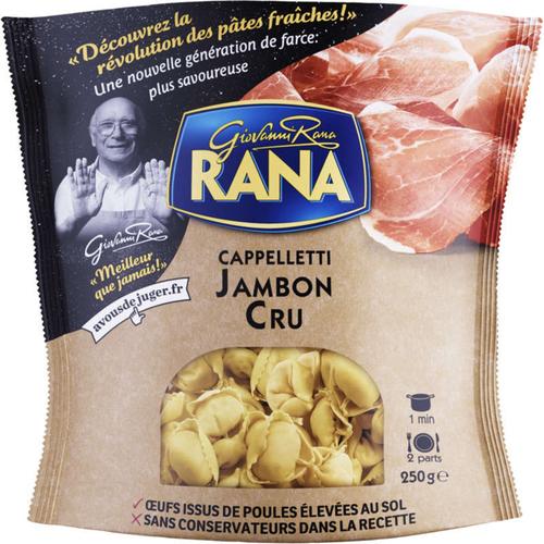 Rana Cappelletti au jambon cru 250g