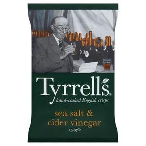 Tyrrells Chips au sel et vinaigre 150g