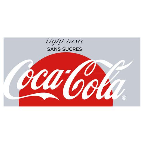 Coca-cola light taste la bouteille de 1L.