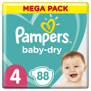 Pampers Baby Dry Mega T4X88