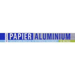 Monoprix Papier aluminium 20 mètres.