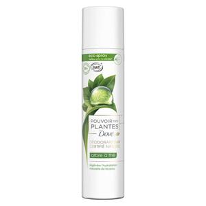 Dove Déodorant Femme Spray Pouvoir des Plantes Arbre à Thé 75ml