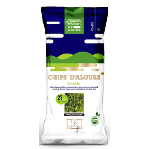 Chips D'Algues Wasabi X3 Paquets 3 x