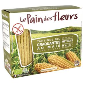 [Par Naturalia] Le Pain Des Fleurs Tartines Craquantes Au Maïs Et Au Riz Sans Gluten 150G Bio