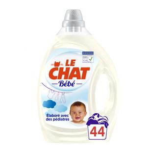 Le Chat Bébé Lessive Liquide Formule Sans Conservateurs 2,2L